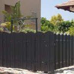גדר שלבים אנכיים מאלומיניום דגם אוריין